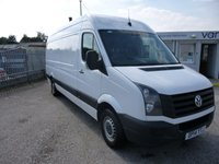 2014 VOLKSWAGEN CRAFTER 2.0TDi CR35 LWB High Roof STARTLINE 110 BHP (LIKE SPRINTER) £11495.00