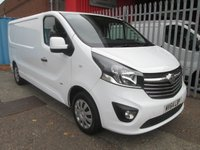 2014 VAUXHALL VIVARO 2900 LWB SPORTIVE BI-TURBO 120PS *AIR CON* £10995.00