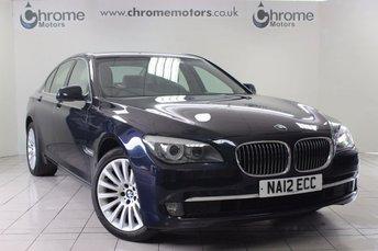 2012 BMW 7 SERIES 3.0 730D SE 4d AUTO 242 BHP £17995.00