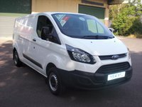 2014 FORD TRANSIT CUSTOM 290 L2 H1 2.2TDCi 100PS 6 SPEED VAN £11995.00