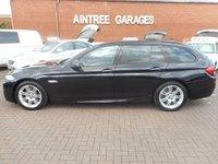 2012 BMW 5 SERIES 3.0 530D M SPORT TOURING 5d AUTO 255 BHP £16490.00