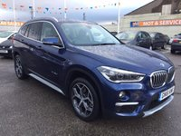 USED 2016 16 BMW X1 2.0 XDRIVE20D XLINE 5d AUTO 188 BHP LOTS OF EXTRAS WHEN NEW * CALL FOR DETAILS