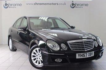 2007 MERCEDES-BENZ E CLASS 2.1 E220 CDI ELEGANCE 4d AUTO 168 BHP £5995.00
