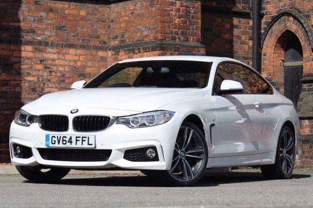 2014 64 BMW 4 SERIES 3.0 435d M Sport xDrive 2dr ** M SPORT PLUS PACKAGE ** FBMWSH-1 OWNER