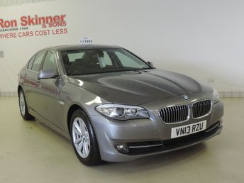 2013 BMW 5 SERIES 2.0 520D EFFICIENTDYNAMICS 4d 181 BHP £14999.00