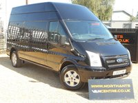 2013 FORD TRANSIT 2.2 350 LIMITED HIGH ROOF 5d 125 BHP £8990.00