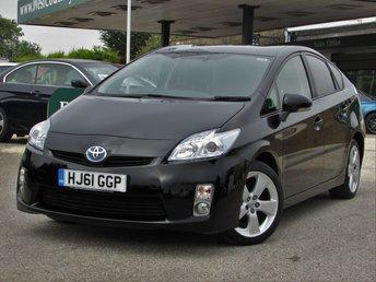 2011 TOYOTA PRIUS 1.8 T SPIRIT VVT-I 5d AUTO 136 BHP £12000.00