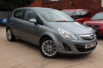 2012 VAUXHALL CORSA 1.4 SE 5d AUTO 98 BHP £5995.00
