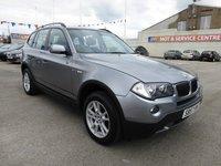 2007 BMW X3 2.0 D SE 5d 148 BHP £6995.00