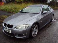 2011 BMW 3 SERIES 2.0 320D M SPORT 2d 181 BHP £9100.00