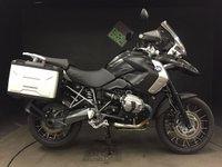 2012 BMW R1200GS TU. TRIPLE BLACK. 2012. 13897. FULLY LOADED. FSH £8495.00