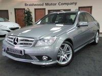 2010 MERCEDES-BENZ C CLASS 2.1 C200 CDI BLUEEFFICIENCY SPORT 4d AUTO 136 BHP £9500.00