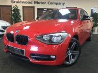 2012 BMW 1 SERIES 1.6 116I SPORT 5d 135 BHP £10950.00