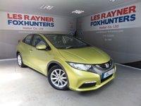 2012 HONDA CIVIC 1.3 I-VTEC SE 5d 98 BHP £5299.00