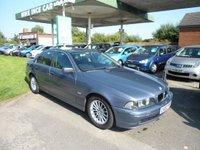 2002 BMW 5 SERIES 2.5 525D SE 4d AUTO 161 BHP £SOLD
