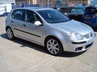 2005 VOLKSWAGEN GOLF 1.9 SE TDI DSG 5d AUTO 103 BHP £2495.00