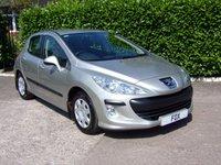 2008 PEUGEOT 308 1.6 S 5d 118 BHP £3475.00