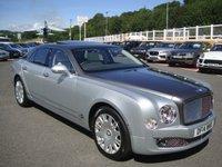 2014 BENTLEY MULSANNE 6.8 V8 4d AUTO 505 BHP 2015 Model Series 2 £125000.00