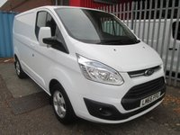 2015 FORD TRANSIT CUSTOM 290 SWB LIMITED 155PS *AIR CON*ONLY 4137 MILES* £SOLD