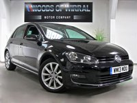 2013 VOLKSWAGEN GOLF 2.0 GT TDI BLUEMOTION TECHNOLOGY 5d 148 BHP £10590.00