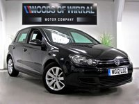 2012 VOLKSWAGEN GOLF 2.0 MATCH TDI BLUEMOTION TECHNOLOGY 5d 138 BHP £8490.00