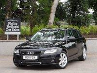 2011 AUDI A4 3.0 AVANT TDI QUATTRO TECHNIK 5d 240 BHP £14450.00