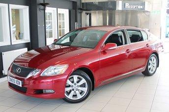 2009 LEXUS GS 3.0 300 SE 4d 246 BHP £12970.00