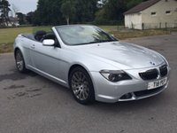 2004 BMW 6 SERIES 4.4 645CI 2d 329 BHP £6950.00