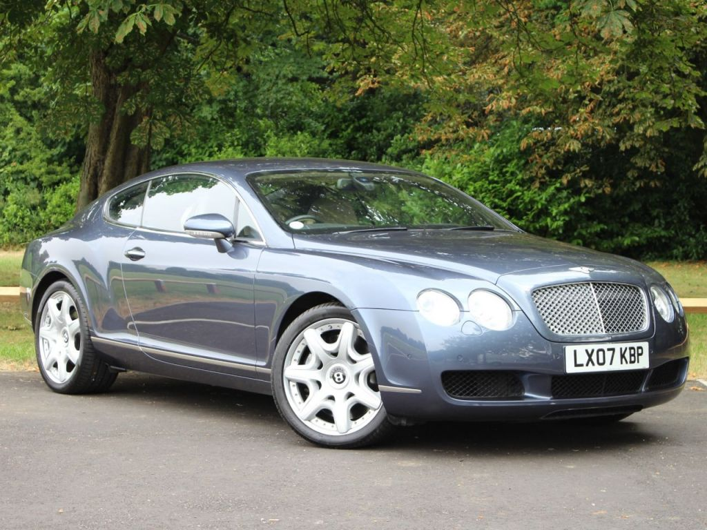 Used 2007 bentley continental 6 0 gt 2dr auto 550 bhp simply stunning