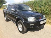 2003 MITSUBISHI L200 TD 4WD LWB WARRIOR DCB £3995.00