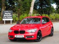 2012 BMW 1 SERIES 1.6 116I SPORT 3d 135 BHP £11950.00