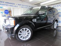 2012 LAND ROVER DISCOVERY 3.0 SDV6 HSE LUXURY 5d AUTO 255 BHP £33995.00