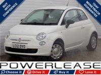 2012 FIAT 500 1.2 POP 3d 69 BHP £4789.00