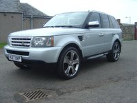 USED 2007 57 LAND ROVER RANGE ROVER SPORT 2.7 TD V6 SE 5dr REDUCED BY £1000 FROM £15000