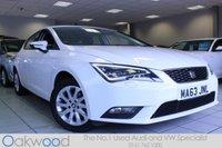 2013 SEAT LEON 1.6 TDI 105 BHP SE [TECHNOLOGY PACK] 5d £9985.00