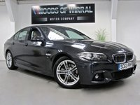 2014 BMW 5 SERIES 2.0 520D M SPORT 4d AUTO 181 BHP £22490.00