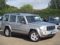 2006 JEEP COMMANDER 3.0 V6 CRD LIMITED 5d AUTO 215 BHP £7995.00