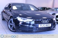 2013 AUDI A6 SALOON 2.0 TDI 177 BHP S LINE BLACK EDITION AUTOMATIC 4d £18985.00