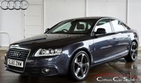 2010 AUDI A6 2.0TDi S-LINE SPECIAL EDITION SALOON 6-SPEED 168 BHP £10990.00