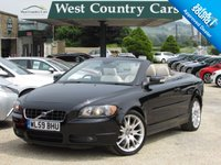 USED 2009 59 VOLVO C70 2.5 T5 SE LUX 2d 230 BHP Low Mileage 4 Seat Convertible