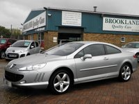 2006 PEUGEOT 407 2.7 COUPE GT HDI 2d AUTO 202 BHP £3295.00
