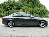 USED 2008 BMW 3 SERIES 2.0 320D M SPORT 2d 175 BHP Full Service History, New 12 month MOT, Sparkling Graphite Metallic