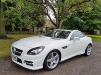 2013 MERCEDES-BENZ SLK 1.8 SLK250 BLUEEFFICIENCY AMG SPORT 2d AUTO 204 BHP £19999.00