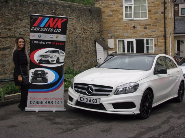 2013 13 MERCEDES-BENZ A CLASS 1.5 A180 CDI BLUEEFFICIENCY AMG SPORT 5d PAN ROOF AMG ALLOYS  JUST SOLD TO ELISAH TODAY