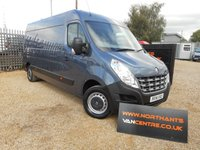 2014 RENAULT MASTER 2.3 LM35 DCI LWB MEDIUM ROOF 5d 125 BHP M'FACTURERS WARRANTY £10990.00