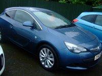 2013 VAUXHALL ASTRA 1.4 GTC SRI S/S 3d 138 BHP £8999.00