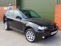 2007 BMW X3 2.0 D M SPORT 5d 148 BHP £6500.00