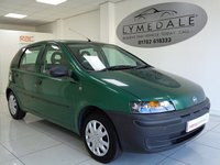 2002 FIAT PUNTO 1.2 8V 5d 59 BHP £995.00