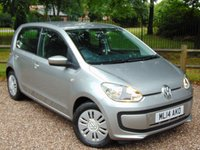 2014 VOLKSWAGEN UP 1.0 MOVE UP BLUEMOTION TECHNOLOGY 5d 59 BHP £6392.00