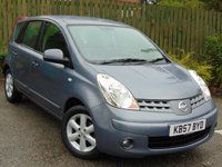 2007 NISSAN NOTE 1.4 ACENTA 5d £2254.00